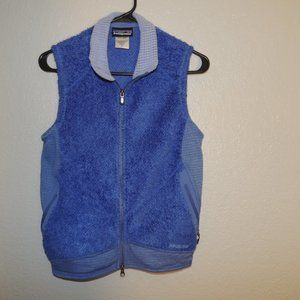 Womens PATAGONIA Fleece VEST Size SMALL